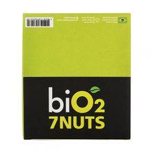 Barra de Castanhas e Frutas - biO2 7 Nuts Maça 25gx12 - biO2