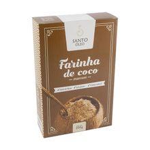 Farinha de coco Marrom Premium 200g - Santo Óleo