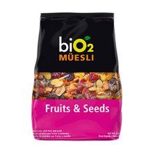Müesli mix de frutas e Sementes 250g - biO2