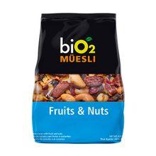 Mix de frutas e castanhas - biO2 Müesli 250g - biO2