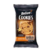 Cookie Sem Glúten Baunilha com Chocolate 34g - Belive