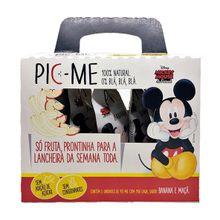 Pouch Disney Banana e Maçã 5 Unidades 90g - Pic-me, 90g, 5 Unidades - Pic-me