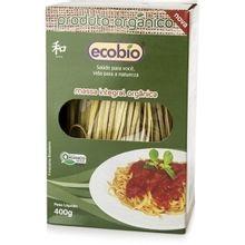Macarrão Integral Orgânico 400g - Ecobio
