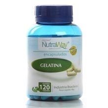 Gelatina 300mg 120 cápsulas - Nutraway, 300mg, 120 cápsulas - Nutraway