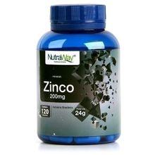 Zinco 120 cápsulas - Nutraway, 200mg, 120 cápsulas - Nutraway
