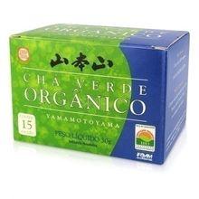 Chá Verde Orgânico 15 X 2g - Yamamotoyama