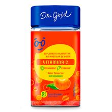 Vitamina C Tangerina 60gomas - Dr Good