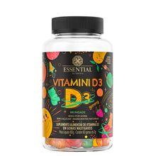 Vitamini D Gummy 60gomas - Essential Nutrition