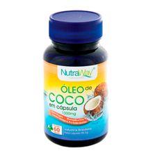 Óleo de Coco 1000mg 60caps - Nutraway