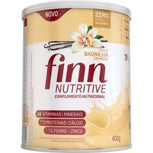 Finn Nutritive Baunilha Cremosa 400g - Hypera Pharma