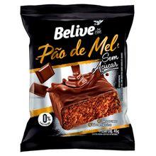 Pão de Mel Zero Açúcar Sem glúten e leite 45g - Belive