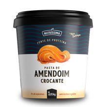 Pasta de Amendoim Crocante 1010g - Nutríssima