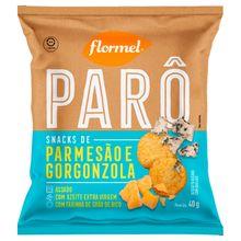 Biscoito Parmesão e Gorgonzola 40g - Flormel