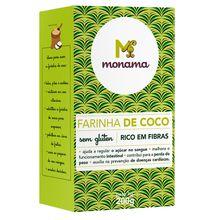 Farinha de Coco  Sem Glúten 200g - Monama