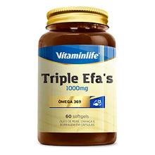 Triple Efa´S 1000mg 60caps - Vitaminlife