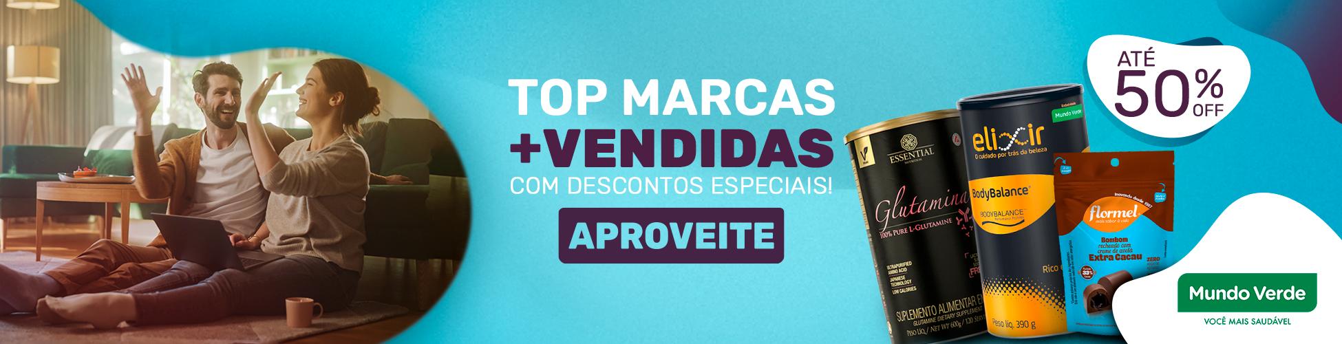 Top Marcas + vendidas